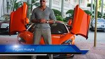Dwayne Johnson The Rock Car Collection