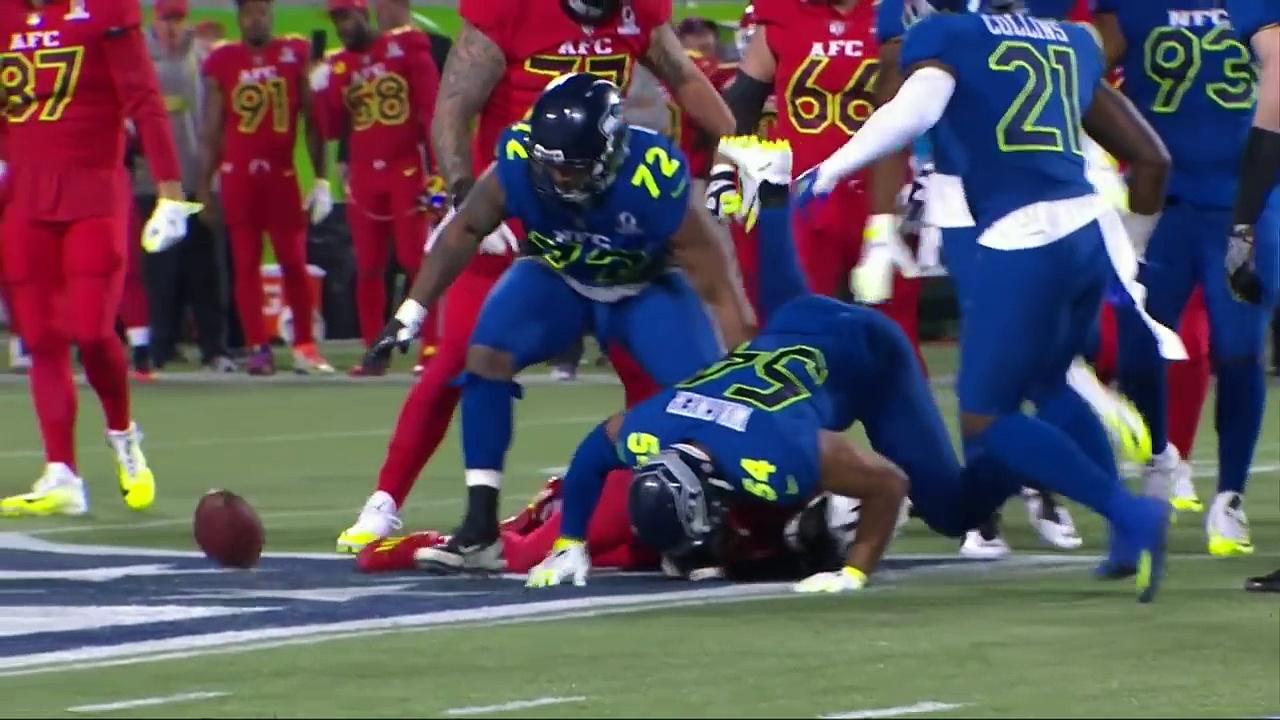 AFC vs. NFC   2017 NFL Pro Bowl Game Highlights