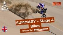 Summary - Bike - Stage 4 (San Juan de Marcona / San Juan de Marcona) - Dakar 2018