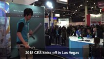 Show of strength by French tech companies at CES 2018