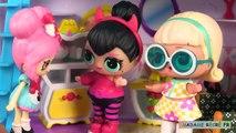 Poupées LOL Surprise Confetti Pop Série 3 Histoires de Poupées Malades Playmobil Hôpital