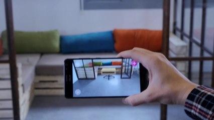 CES 2018 : Combineo : essayage virtuel en réalité augmentée pour le home design