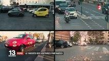 Rome : le succès des voitures partagées