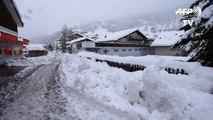 Intempéries dans les Alpes: des milliers de touristes bloqués
