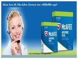 Telefoonnummer McAfee Helpdesk: +31-202253723