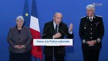 Voeux de la police nationale : discours du ministre de l'Intérieur
