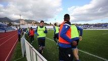 Stage du FC Bruges match amical à Marbella contre le FC Goningen