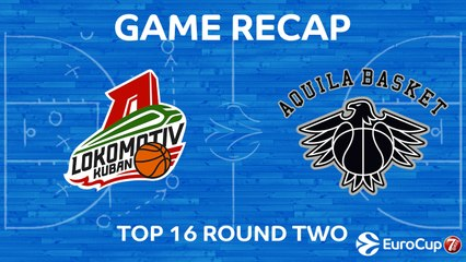 7Days EuroCup Highlights Top 16, Round 2: Lokomotiv 97-69 Trento