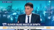 """Olivier Faure veut """"porter une renaissance complète"""" du parti socialiste"""