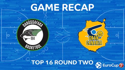 7DAYS EuroCup Highlights Top 16, Round 2: Darussafaka 88-70 Gran Canaria