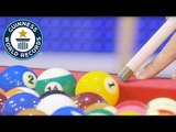 Pool trick shot world record // Guinness World Records Italian Show (Ep 28)
