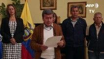 Guerrilla colombiana ELN pide que sigan diálogos de paz