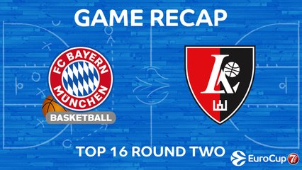 7DAYS EuroCup Highlights Top 16, Round 2: Bayern 81-68 Rytas