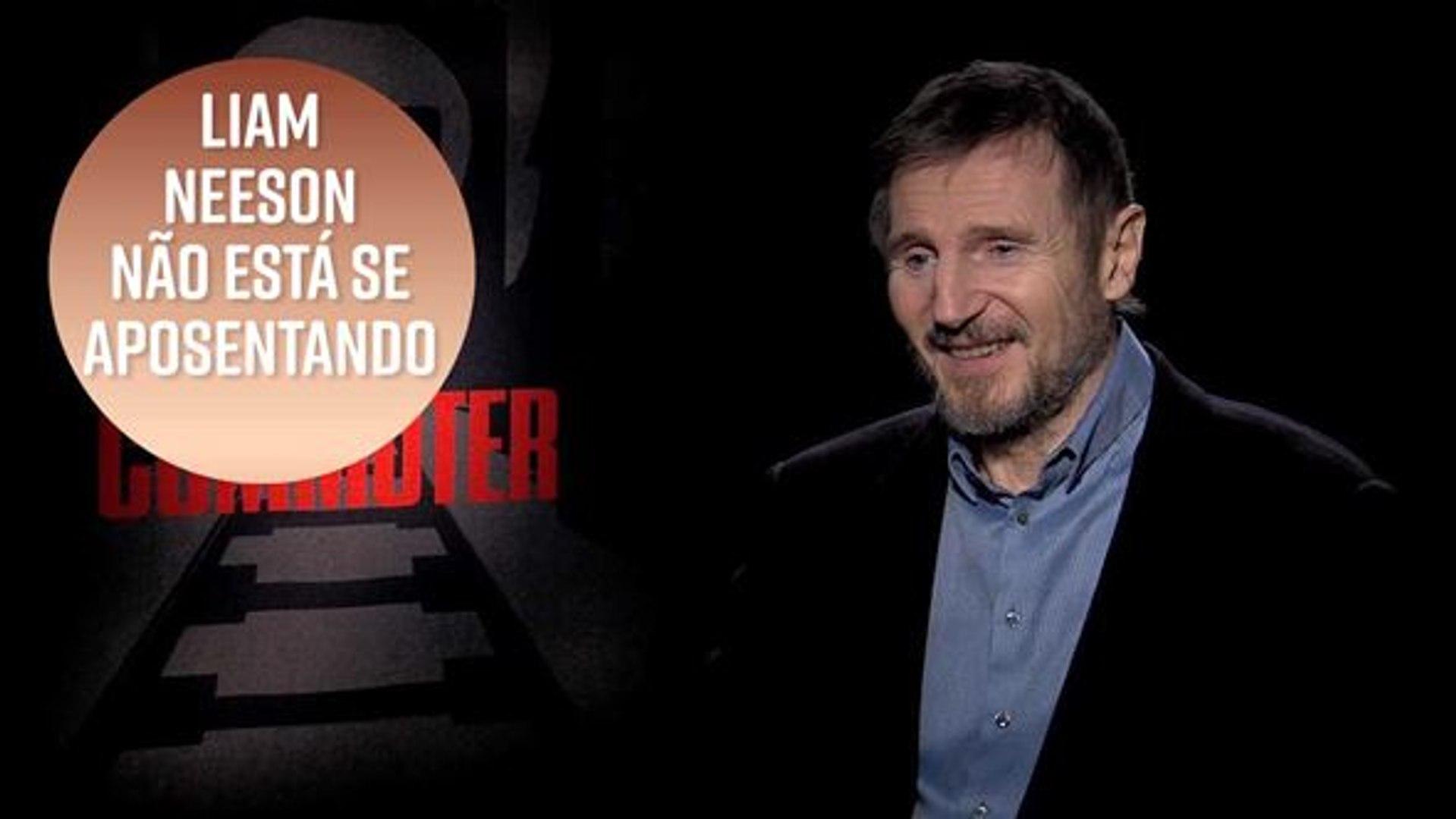 Liam Neeson não está se aposentado dos filmes de ação