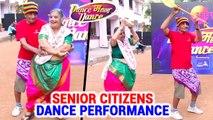 Senior Couple Performing On Mi Hai Koli Song | Dance Maharashtra Dance | Mumbai Audition | Zee Yuva