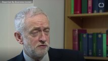 Labour Party Leader Jeremy Corbyn Accuses Theresa May Of 'Sinking' NHS