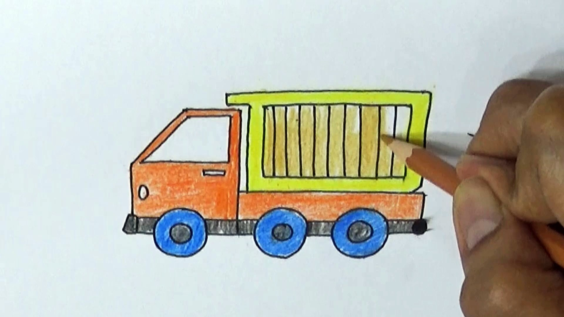 Drawing For Beginners Step By Step How To Draw A Truck Video Dailymotion