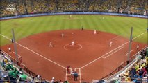 Japan Topple Softballs Champions in Beijin