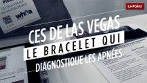 CES de Las Vegas 2018 : le bracelet qui diagnostique les apnées