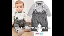 Baby Boy First Birthday Dress, Newborn 1st Birthday Smash Cake Attire, Baby Birthday Presents