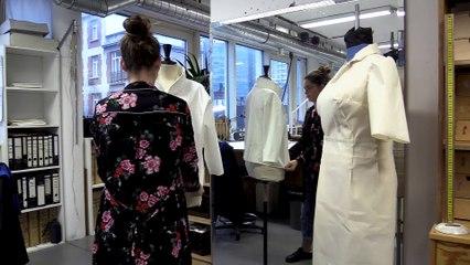 Dans l'atelier costumes du Théâtre National