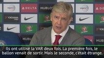 League Cup - Wenger pas fan de la VAR