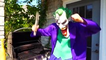 Frozen Elsa & Spiderman SUPER SOUR CANDY PRANK! w  Maleficent Joker! Superhero Fun in real life IRL | Superheroes | Spiderman | Superman | Frozen Elsa | Joker