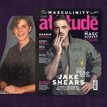 "From bullied ""faggot"" to masculinity cover boy"