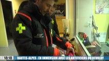 Le 18:18 - Hautes-Alpes : notre reportage avec les déclencheurs d'avalanche dans le Dévoluy