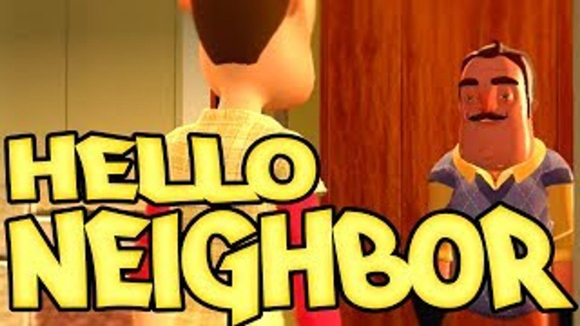 The Hello Neighbor FUNNY Movie Animation