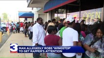 Aspiring Rapper Robbed Wingstop to Get Owner Rick Ross's Attention: Police