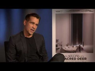 The Killing of a Sacred Deer interview - Colin Farrell on his first reaction to the script