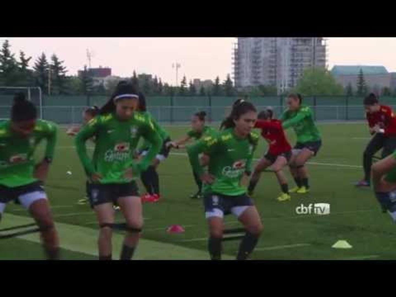 Seleção Brasileira treina no Canadá. Acompanhe!
