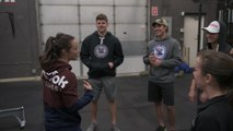 Watch: Red Bull Crashed Ice athletes train with CrossFit star Camille Leblanc-Bazinet