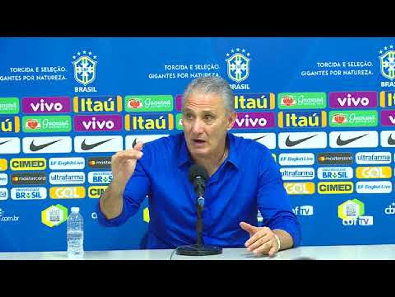 Seleção Brasileira: coletiva com Tite - 05/09/2017