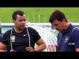 CBF Academy: Zé Ricardo e Jair Ventura, rivais em campo e parceiros na Licença A