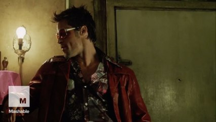 Brad Pitt and Ed Norton contributed strange ideas to 'Fight Club'
