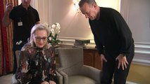 Meryl Streep and Tom Hanks on who got paid more for The Post