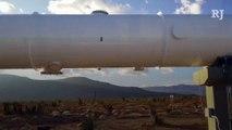 Virgin Hyperloop One shows off test track near North Las Vegas