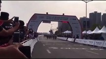 Fernando Gaviria Pierde por Milimetros 5 Stage Tour of Guangxi Dylan Groenewegen W