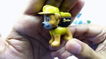 PAW PATROL Play Doh Surprise Toy Opening Learn Shapes and Colors   Pokemon Mons
