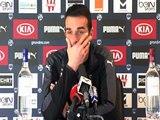 Conférence Le coach avant Bordeaux Lorient par Girondins