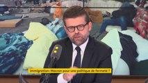 """Politique migratoire : """"Ce que je constate avec cette circulaire [Collomb] c'est que c'est la ligne dure qui l'a emporté à Beauvau"""" - Luc Carvounas, député du Val-de-Marne, candidat à la direction du PS"""
