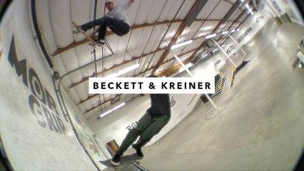 Sam Beckett and Clay Kreiner