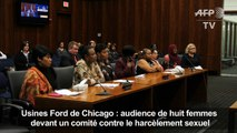 Harcèlement sexuel chez Ford: huit femmes s'expriment à Chicago