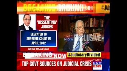 FMR Attorney General Soli Sorabjee On Supreme Court Judges Press Conference