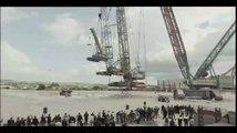 Cette grue géante peut soulever 3 autres grues - Liebherr Crane Mobile