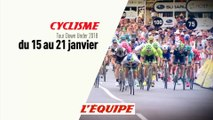 CYCLISME - SANTOS TOUR DOWN UNDER 2018 : Étapes 1 à 6