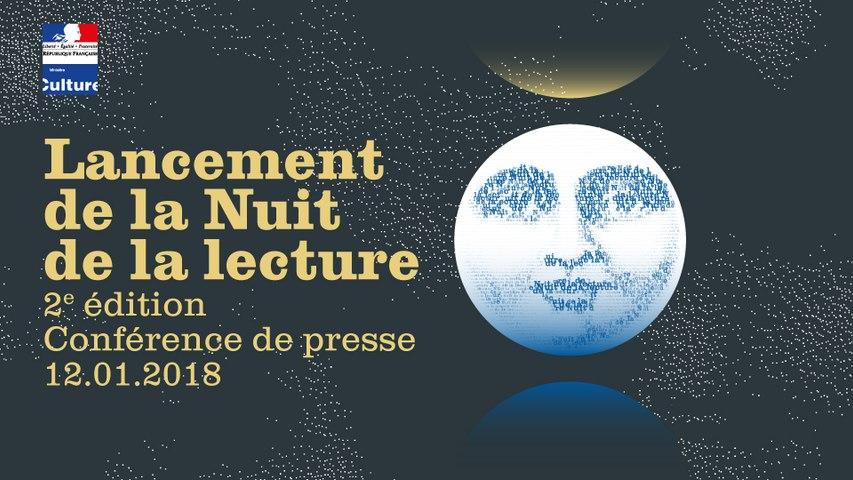 Lancement de la deuxième édition de la Nuit de la lecture