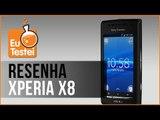 Xperia X8 Sony Ericsson Smartphone - Vídeo Resenha EuTestei Brasil